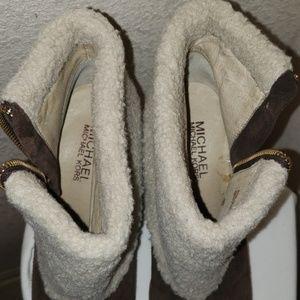 Michael Kors Shoes - Michael Kors Wedge Booties